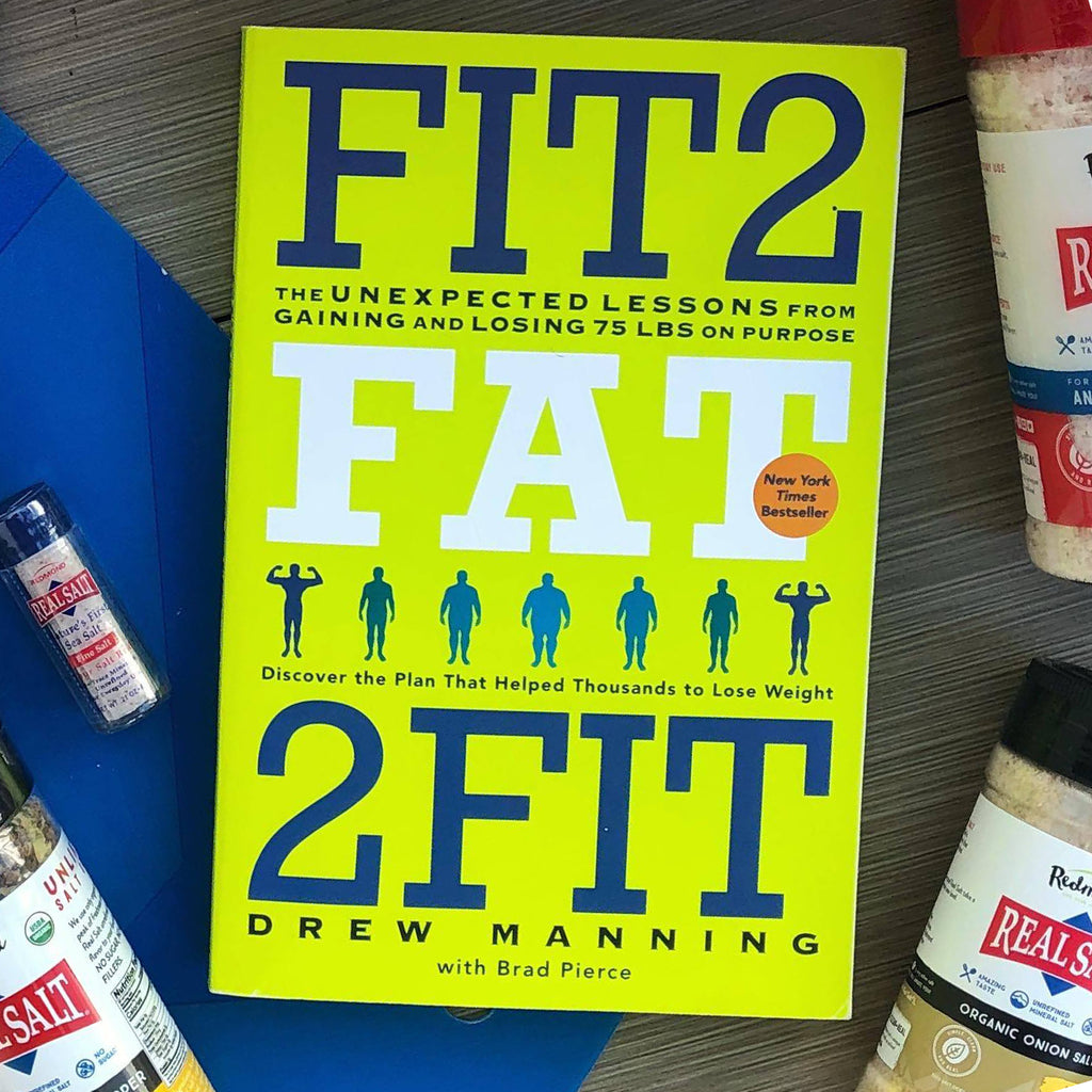 Fit2Fat2Fit Book - Drew Manning