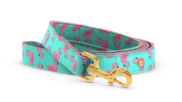 Pixeli Handmade Dog Leash - Pool Party - Gold