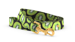 Pixeli Handmade Dog Leash - Kiwi - Gold