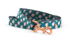 Pixeli Handmade Dog Leash - Lemonade - Rose Gold
