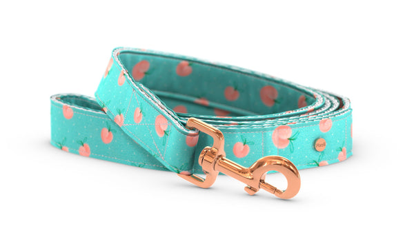 Pixeli Handmade Dog Leash - Peach - Rose Gold