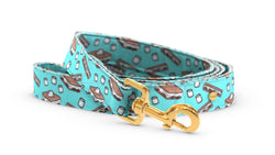 Pixeli Handmade Dog Leash - S'mores - Gold