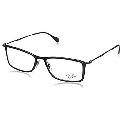 Ray-Ban Eyeglasses Black w/Demo Lens Men's RX6299 2760 55