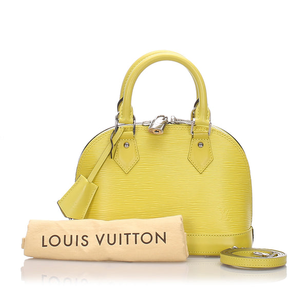Louis Vuitton Epi Alma BB