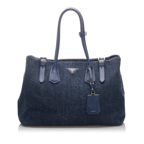 Prada Denim Tote Bag