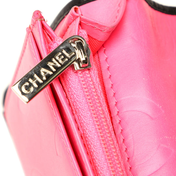 Chanel Cambon Ligne Lambskin Leather Wallet