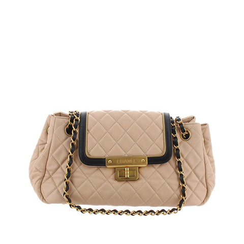 Chanel Accordion Matelasse Reissue Lambskin Leather Shoulder Bag