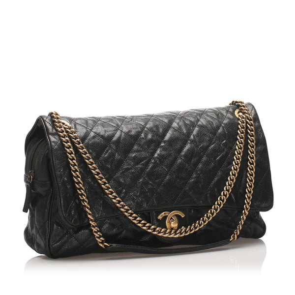Chanel CC Timeless Caviar Shoulder Bag