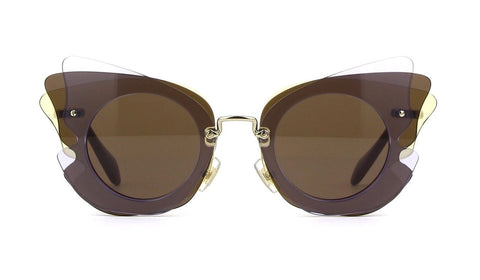 Miu Miu Women's Over Lapping Butterfly Sunglasses Lilac MU02S VA6-8C1