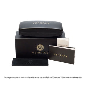 Versace Round Men's Sunglasses w/Brown Lens VE4315-518873