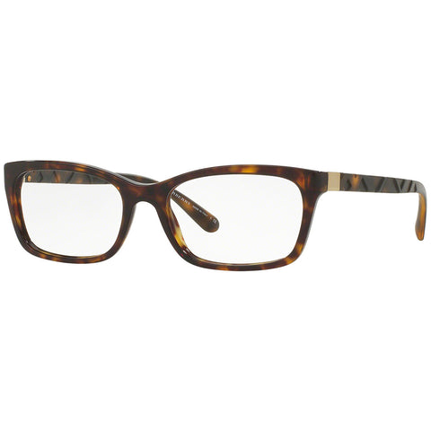 Burberry Rectangular Eyeglasses Women's BE2220-3002-52