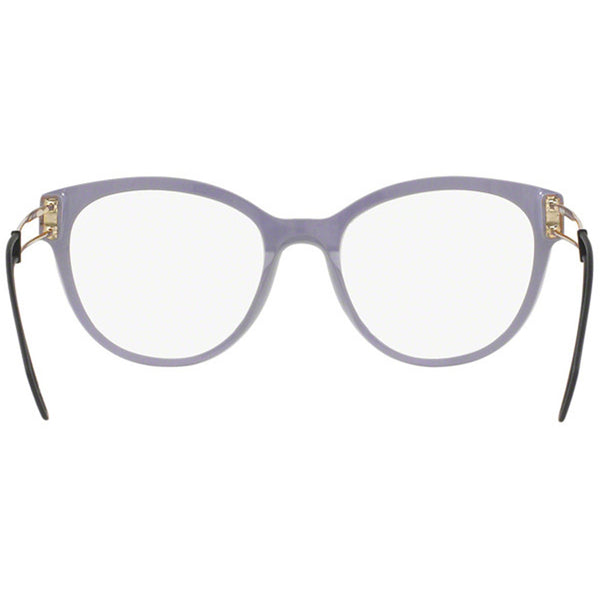 Miu Miu Cat Eye Women's Violet Eyeglasses Demo Lens - Back