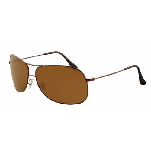Ray-Ban Aviator Unisex Sunglasses w/Brown Polarized Lens RB3267 014/83