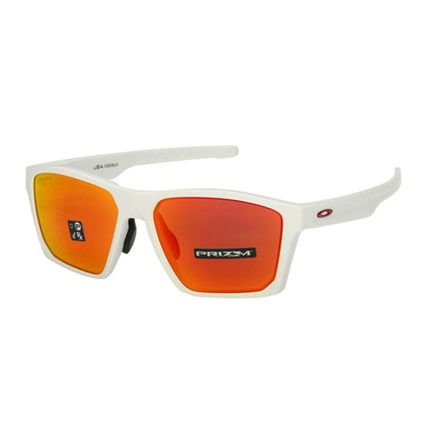 Oakley Targetline Asia Fit Sunglasses OO9398-0358 Matte White | Prizm Ruby Lens