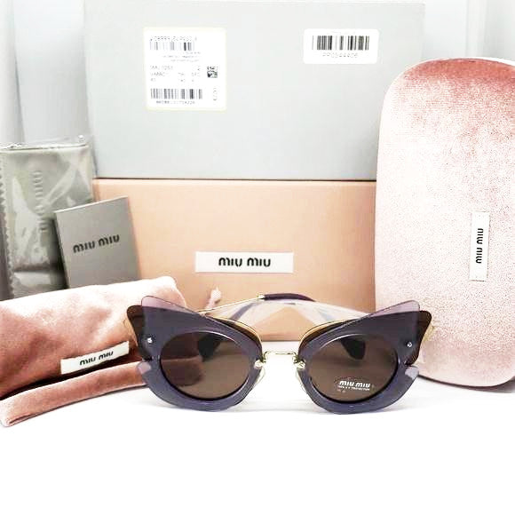 Miu Miu Over Lapping Butterfly Sunglasses | Accessories