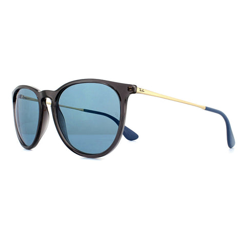 Ray-Ban Erika Women's Sunglasses W/Blue Classic Lens RB4171 6340/F7