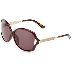 Gucci Women's Sunglasses W/Grey Lens GG0076SK-004
