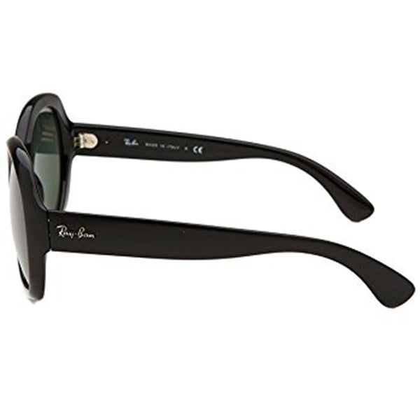 Ray Ban Hightstreet Oversized Women's Sunglasses Black | Side