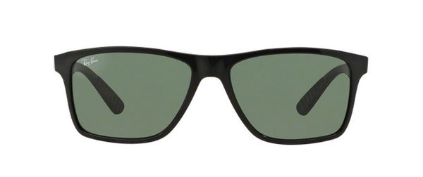 Ray-Ban square sunglasses Men's Frame with Green Classic Lens.