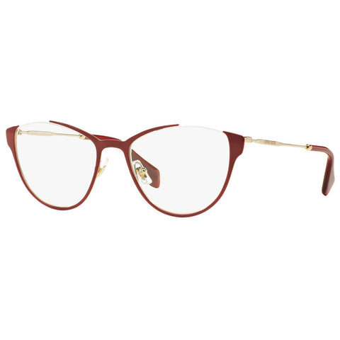 Miu Miu Cat Eye Women's Eyeglasses Amaranth W/Demo Lens MU51OV-UE51O1-53