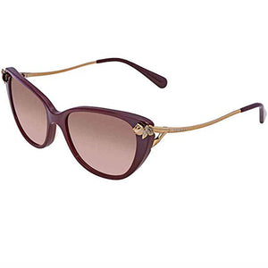 Coach Sunglasses Oxblood w/Pink/Grey Gradient Lens Women