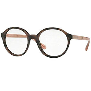 Burberry Eyeglasses Spotted Brown w/Demo Lens Women