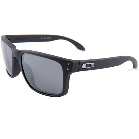 Oakley Infinite Hero Holbrook Mirrored Sunglasses Black Iridium Men