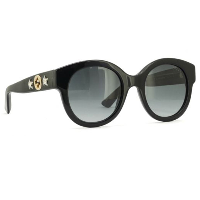 e2a8a1782fd3e Gucci Sunglasses Black w Grey Polarized Lens Women GG0207S-007 – The ...