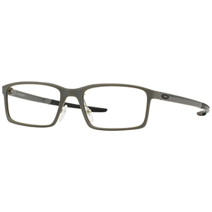 Oakley Rectangle Unisex Eyeglasses Grey - Demo Lens