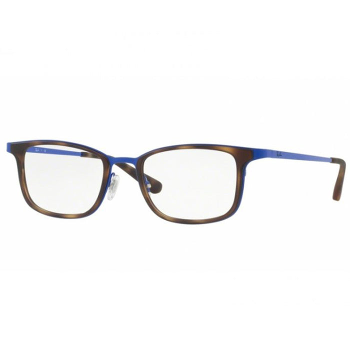 Ray-Ban Rx Eyeglasses Tortoise/Blue Color w/Demo Lens Unisex RX6373 M2955