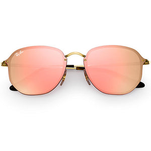 Ray Ban Blaze Hexagonal Square Unisex Sunglasses - Full View