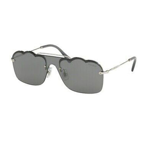 MIU MIU MU55US 1BC175 CLOUD Frame Grey Gradient Women's Sunglasses