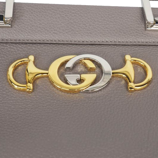 Gucci Zumi Leather Satchel Bag