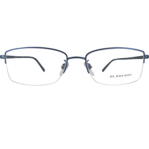 Burberry Rectangle Eyeglasses Demo Lens | Front View