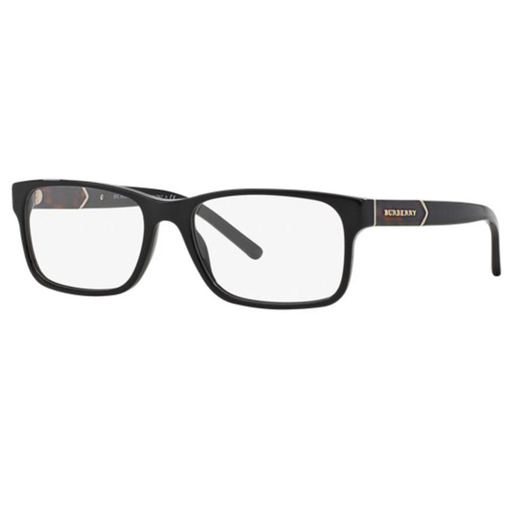 New Authentic Burberry Women's Eyeglasses Black W/Demo Lens BE2150-3001-55