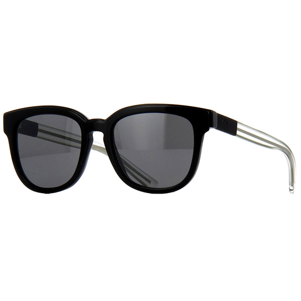 Dior Blacktie Women's Sunglasses Black w/Grey Mirrored Lens DIOR-BLACKTIE213S-LMWJI-52