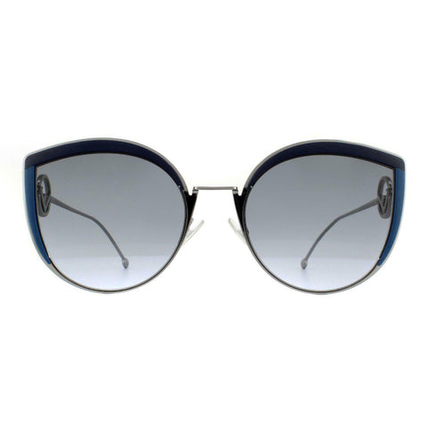 Fendi Sunglasses Blue w/Blue Lens Women's FF0290/S PJP