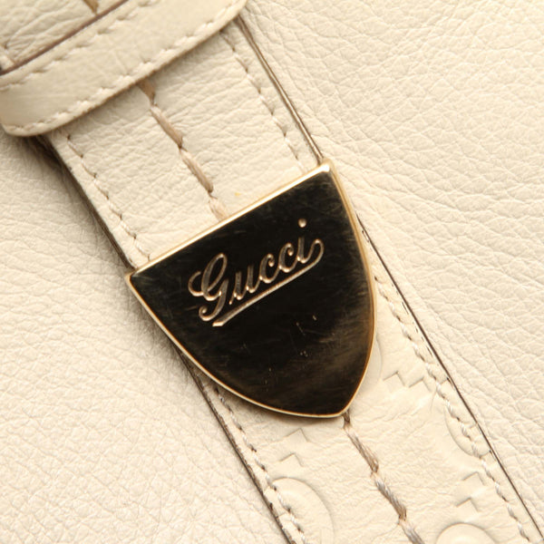 Gucci Leather Boston Bag