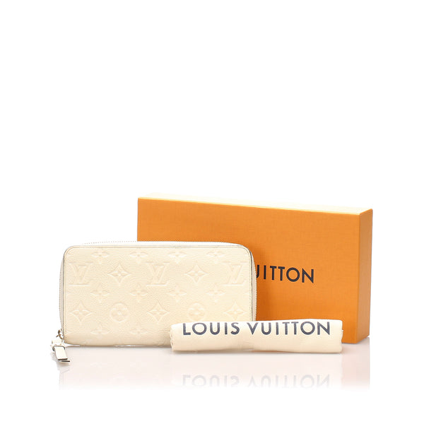 Louis Vuitton Monogram Empreinte Zippy Wallet