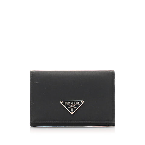 Prada Tessuto Card Holder