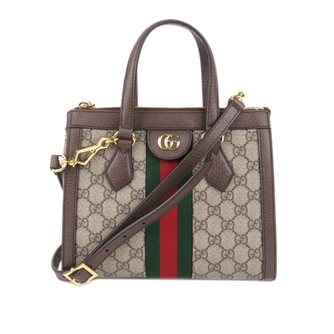 Gucci GG Supreme Ophidia Satchel