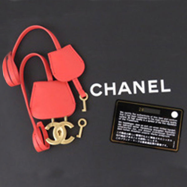 Chanel Caviar CC Filigree Vanity Case