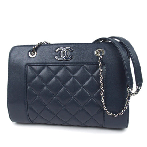 Chanel CC Matelasse Leather Chain Shoulder Bag