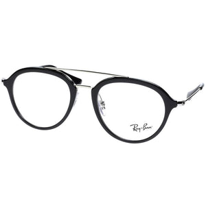 Ray-Ban Junior Aviator Eyeglasses Shiny Black w/Demo Lens RY9065V 3542