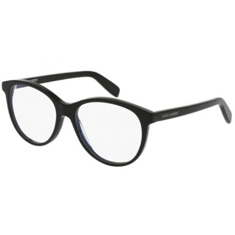 Saint Laurent Oval Women's Eyeglasses W/Demo Lens SL 163-001