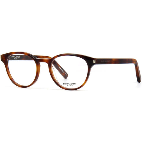 Saint Laurent Oval Unisex Eyeglasses W/Demo Lens CLASSIC 10-002