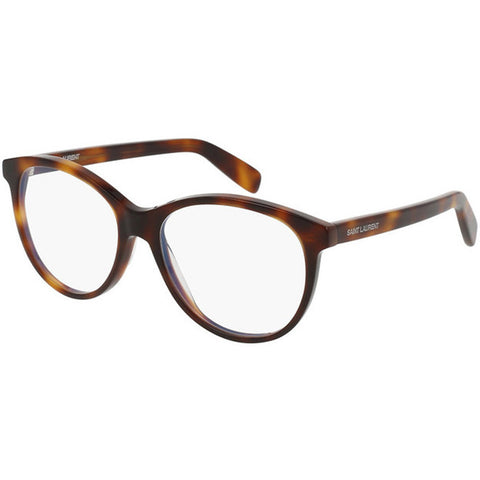 Saint Laurent Oval Women's Eyeglasses W/Demo Lens SL 163-002