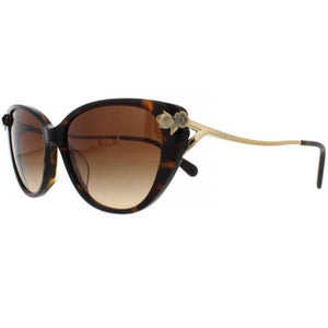 Coach Sunglasses Dark Tortoise w/Brown Gradient Lens Women