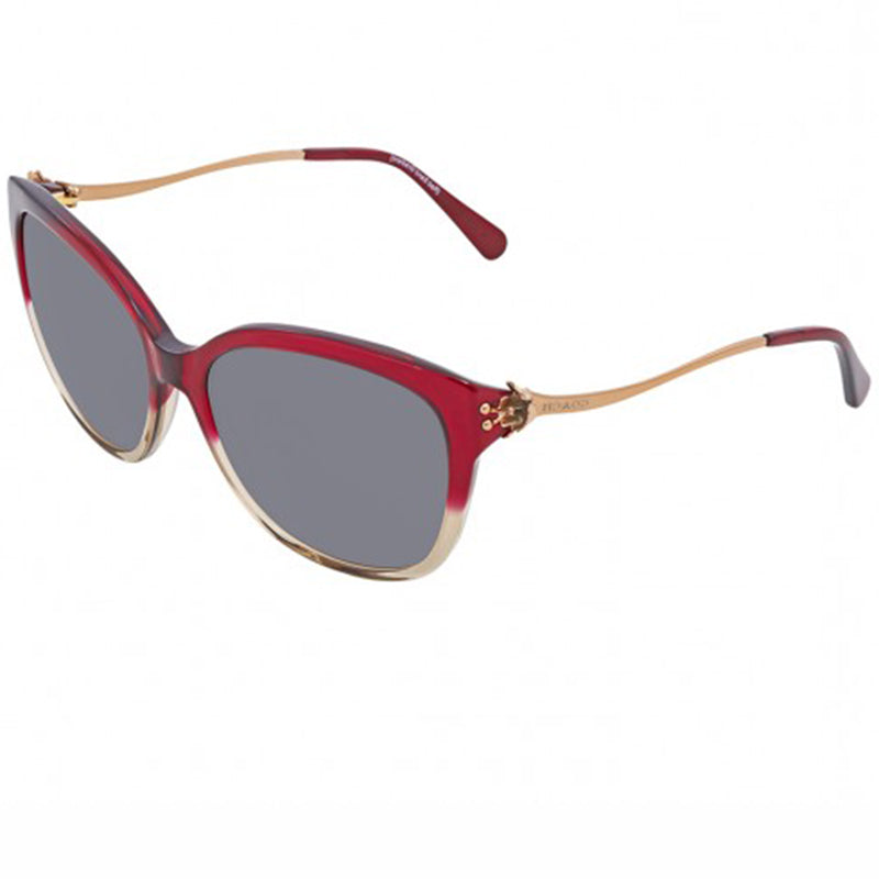 Coach Sunglasses Pinkish Red w/Grey Lens Women