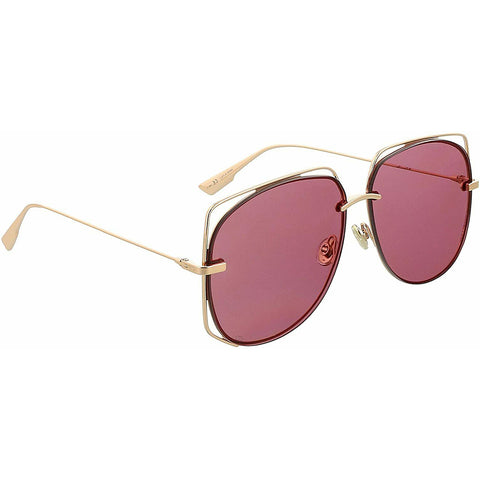 Dior Sunglasses Gold w/Pink Lens Women DIORSTELLAIRE6